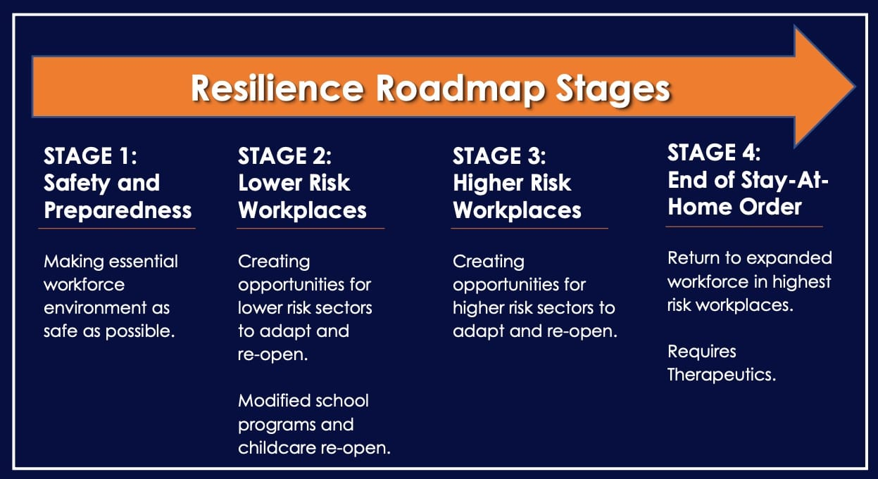Resilience Roadmap Stages