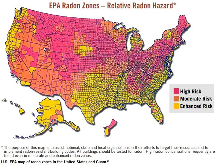 Radon Map 1